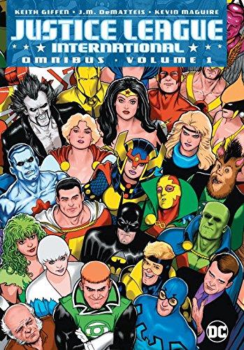 Justice League International Omnibus 1