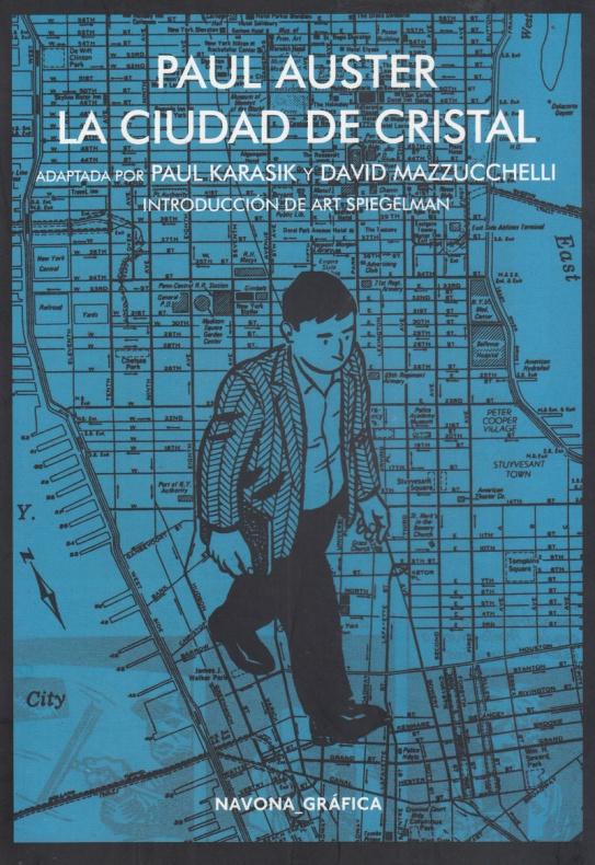 La ciudad de cristal Paul Auster Navona portada