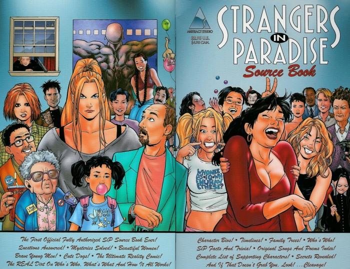 La novela gráfica Strangers in Paradise tendrá adaptación cinematográfica 4