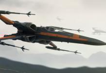 Los últimos Jedi - Poe Ala-X 1