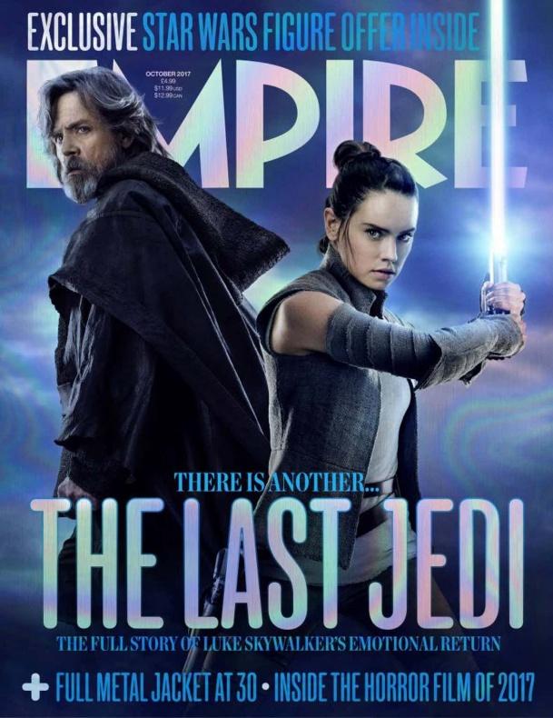 Los últimos Jedi - Portada Empire