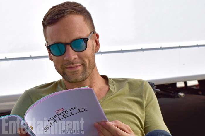 Nick Blood vuelve a 'Agentes de SHIELD'
