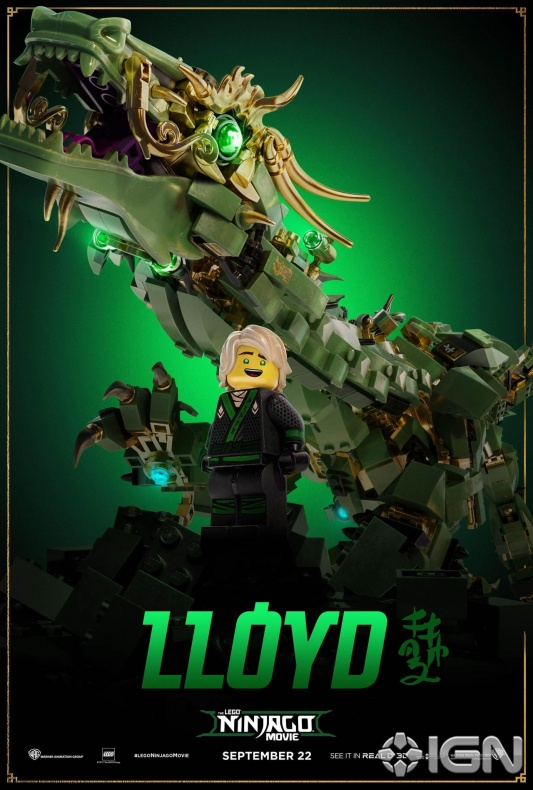 Ninjago movie Lloyd