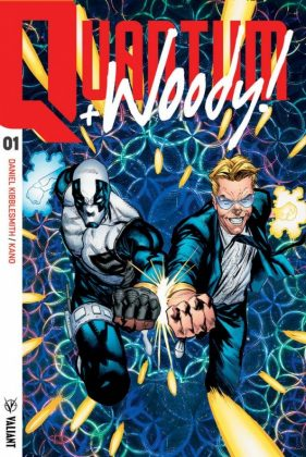 Primer vistazo a Quantum and Woody 1 de Valiant 3