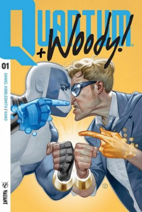 Primer vistazo a Quantum and Woody 1 de Valiant 4