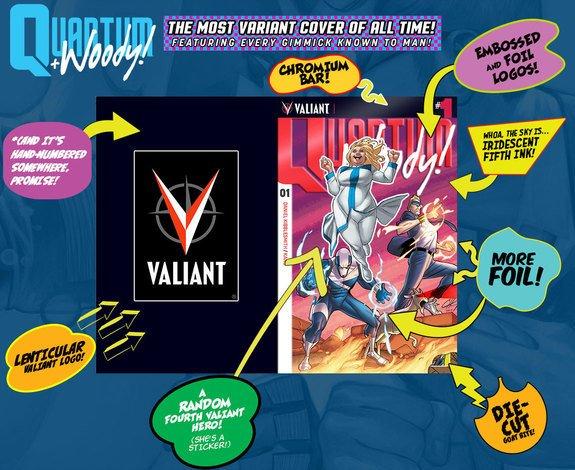 Quantum & Woody Valiant