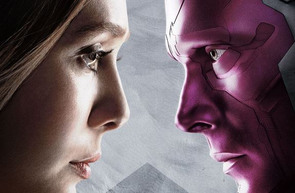 Scarlet Witch y Vision