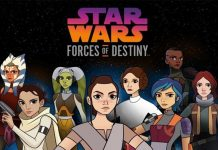 Star Wars Forces of Destiny Tráiler Especiales