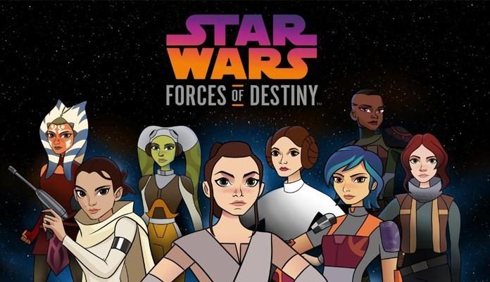 Star Wars Forces of Destiny Tráiler Especiales