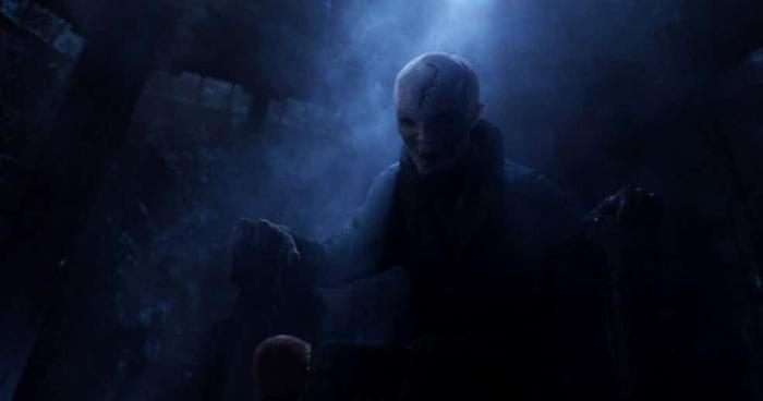 Star Wars Primera imagen de la nave del Líder Supremo Snoke 1