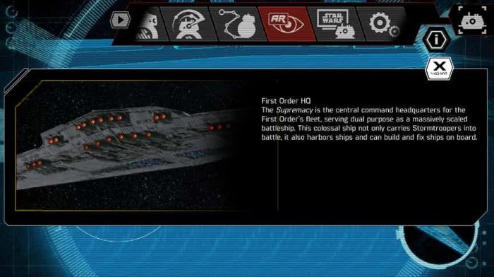 Star Wars Primera imagen de la nave del Líder Supremo Snoke 2