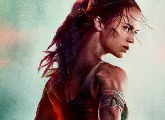 Tomb Raider Alicia Vikander poster