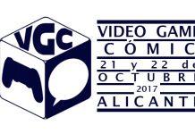 VGComic 2017 logo con fechas