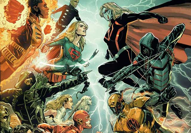 cw crossover crisis on earth-x comic version