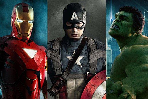 iron man hulk captain america marvel