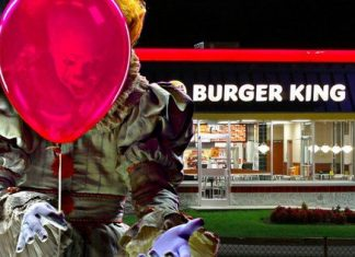 it pennywise burger king