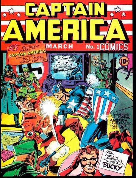 Captain America 1 Kirby