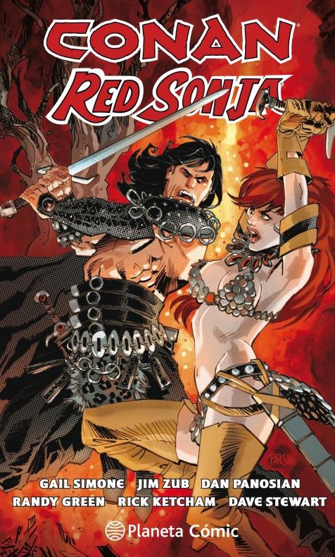 Conan y Red Sonja Portada