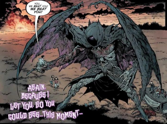 Dark Nights Metal Easter Egg 1