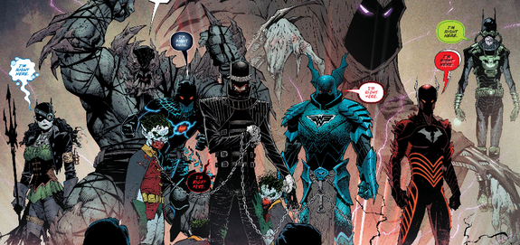 Dark Nights Metal Easter Egg