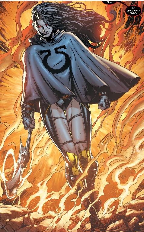 Grail hija de Darkseid