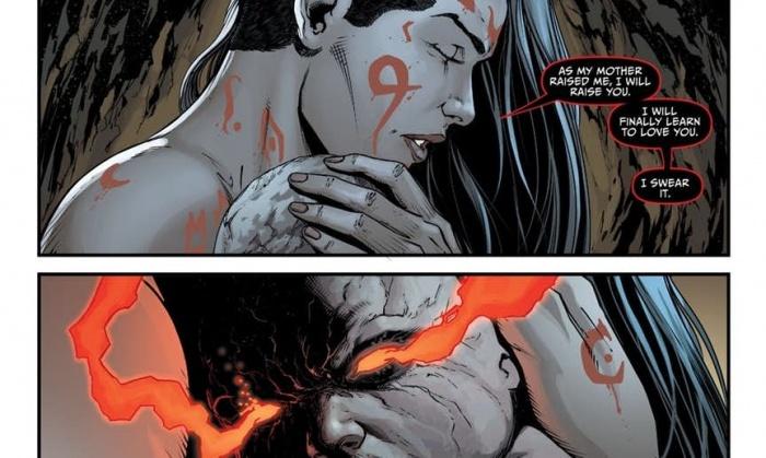 Grail y Darkseid