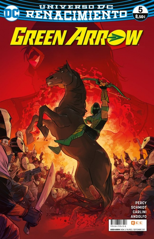 Green Arrow renacimiento 5