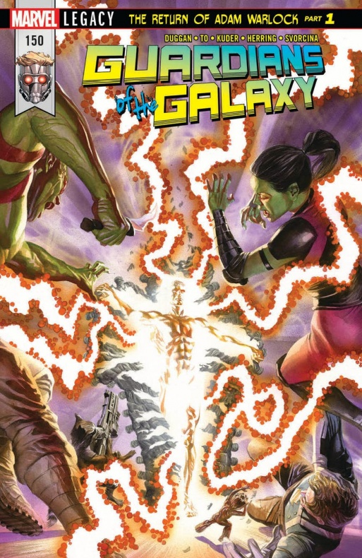 Guardians of the Galaxy 150 cover
