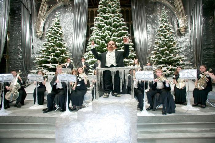 Harry Potter baile navidad