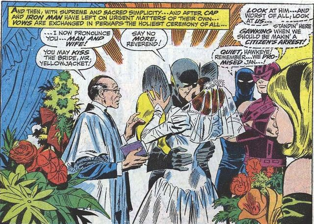 Henry Pym and the Wasp