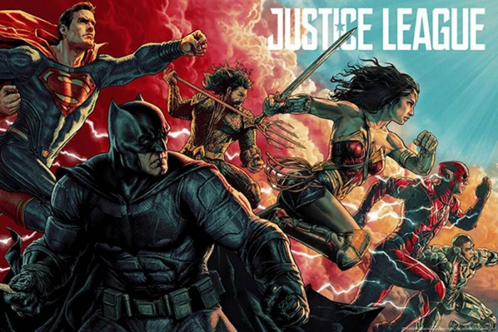 Liga de la Justicia - póster Mondo