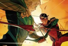 Oliver Queen Green Arrow y Roy Harper Red Arrow