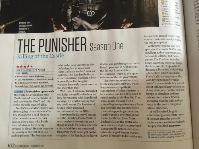 Punisher-review-SFX Magazine diciembre