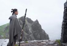 Rey Luke Star Wars Last Jedi
