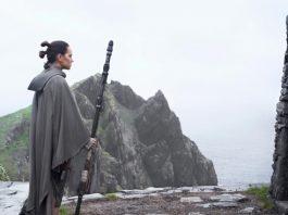 Rey Luke Star Wars Last Jedi