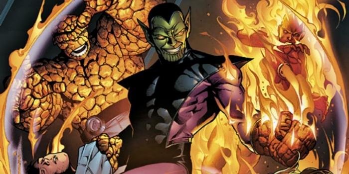 Skrulls X-Men Dark Phoenix 1