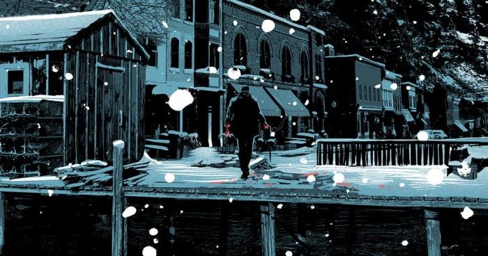 Snow Blind comic boom