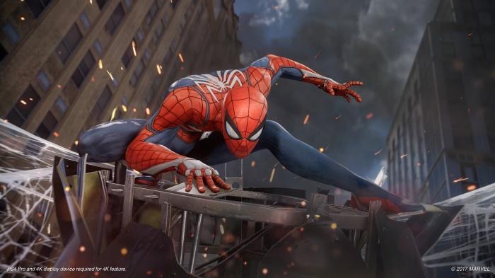Spider-Man videojuego de insomniac para PS4