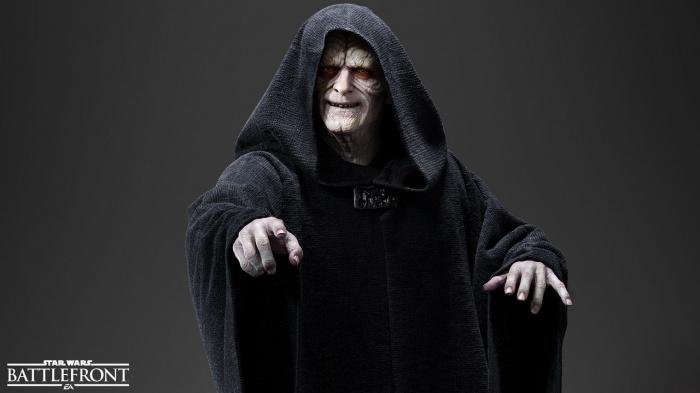 Star Wars Battlefront Emperador Palpatine
