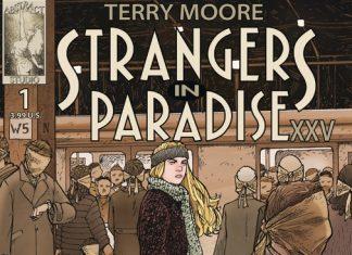 Strangers in Paradise XXV Terry Moore destacada