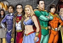 The Big Bang Theory Liga de la Justicia Green Lantern 1