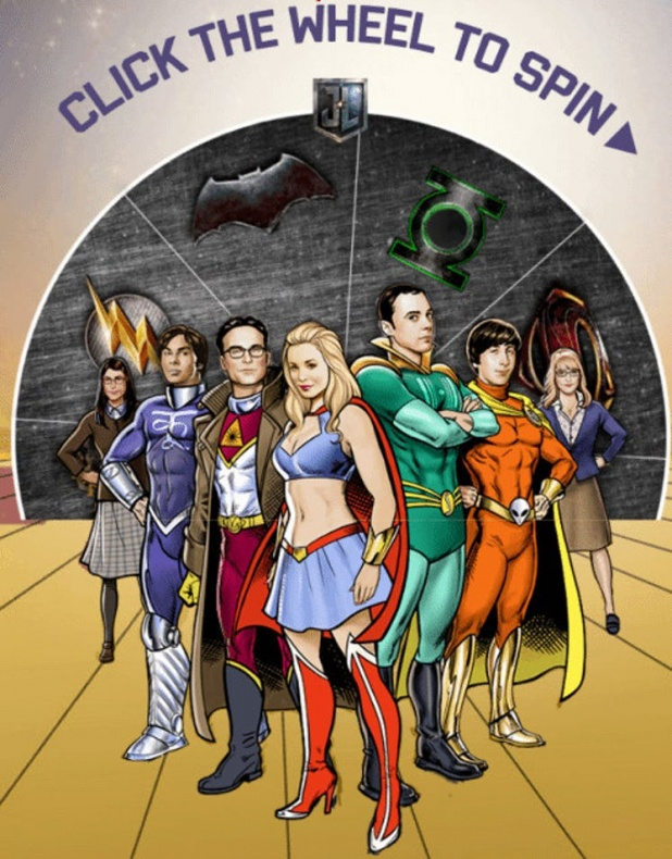 The Big Bang Theory Liga de la Justicia Green Lantern