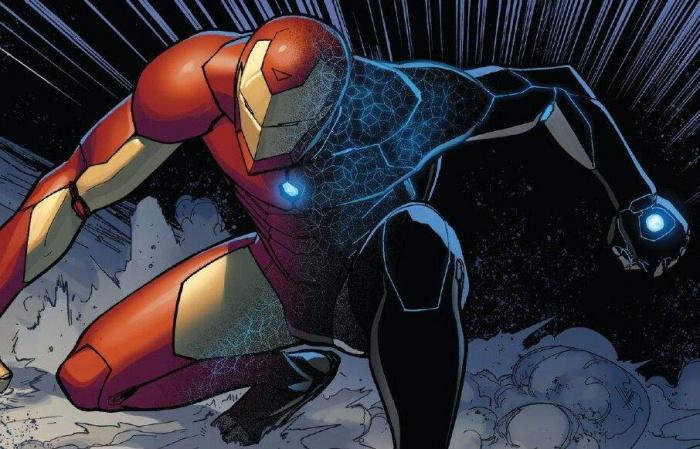 Toni Stark armadura Iron Man