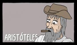 aristoteles comics existenciales