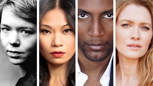 Buenos presagios - Anna Maxwell Martin (Belcebú) - Lourdes Faberes (Polución) - Yusuf Gatewood (Hambre) - Mireille Enos (Guerra)