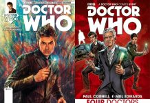 Doctor Who Titan Comics Cuatro Doctores