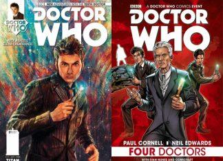 Doctor Who Titan Comics Cuatro Doctores