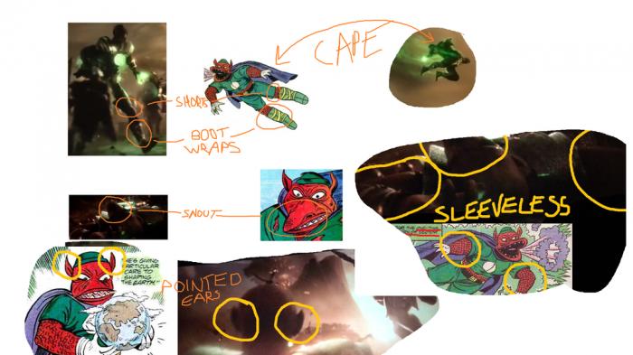 Green lantern identidad