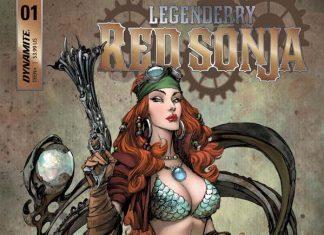 Legenderry Red Sonja portada