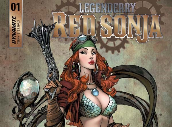 Legenderry Red Sonja portada